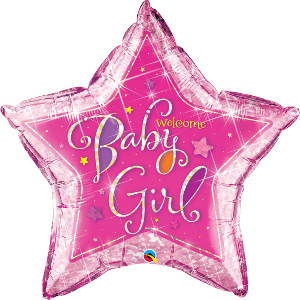 Welcome Baby Girl Star