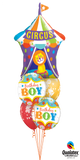 Birthday Boy Circus Bouquet (1 Giant Circus Tent, 2 Foil, 2 Latex)