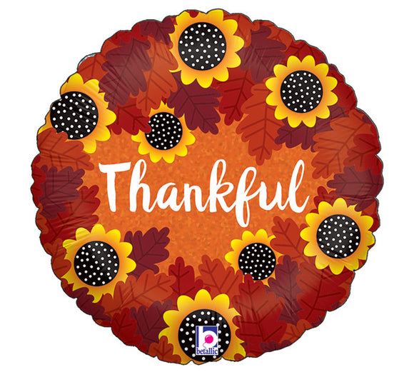 Holographic Thankful Sunflowers