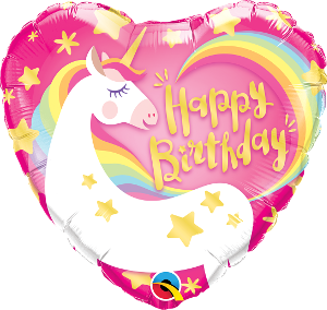 Birthday Magical Unicorn Foil