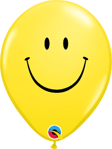 "11"" Smiley Face Latex"
