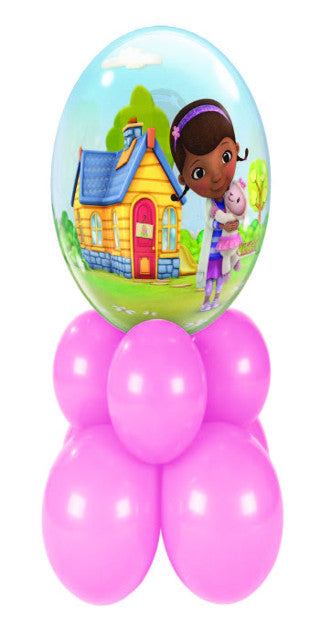 Disney Doc McStuffins Super (1 Bubble, 8 Latex)