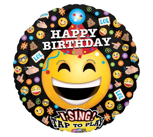 Singing Happy Birthday Emoji