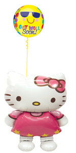 Hello Kitty Get Well Bouquet (1 Airwalker, 1 Orbz)