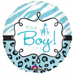 It's A Boy Safari Print