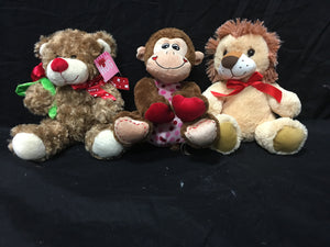 Stuffed Animals (Design May Vary)