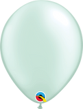 "11"" Pastel Pearl Color Round Latex Balloons"