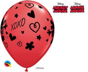 "11"" Valentines Day Mickey and Minnie XOXO"