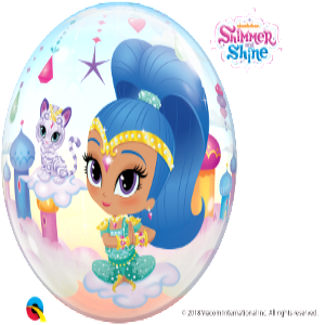 Shimmer & Shine Bubble