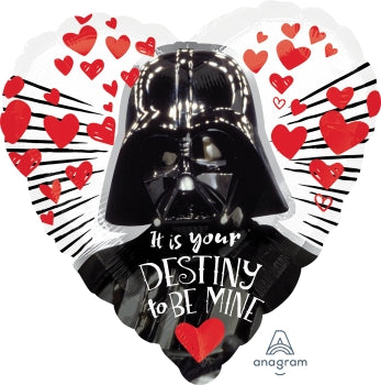 Stars Wars Heart With Darth Vader