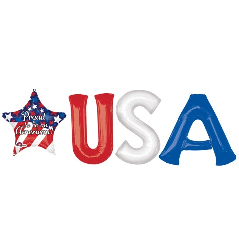 USA with Star Letter Bunch