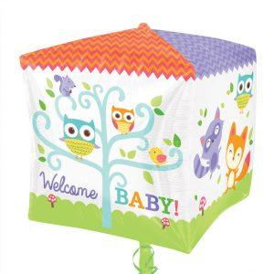Welcome Baby Woodland Animals