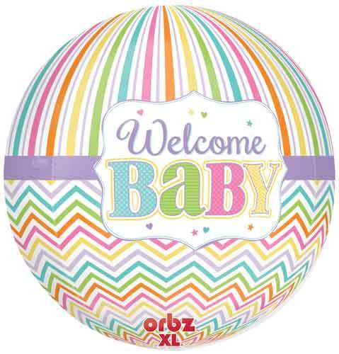 Welcome Baby Pastel Orbz