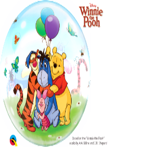 Winnie The Pooh & Friends Bubble