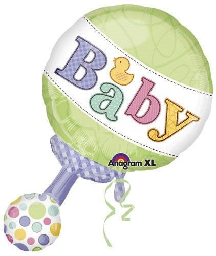 Baby Rattle Super Shape