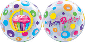 Happy Birthday Circle Bubble