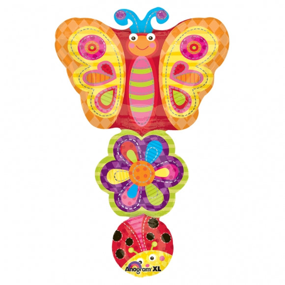 Ladybug Flower Butterfly Stacker