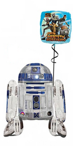 R2D2 Airwalker Bouquet (1 Airwalker, 1 Foil)
