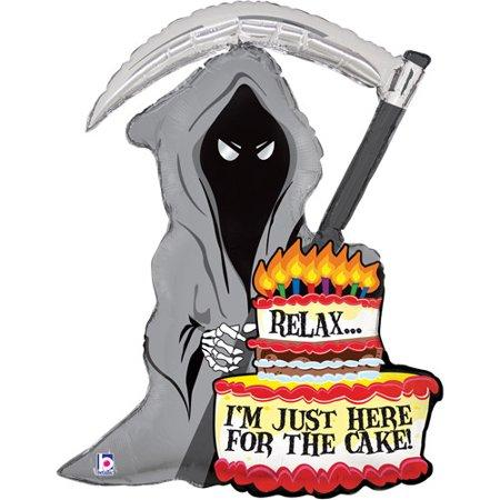 Reaper with Cake