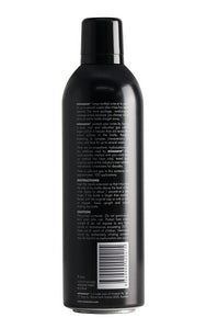 Winesave PRO, premium wine preservation product made with 100% argon gas. Back of open bottle.