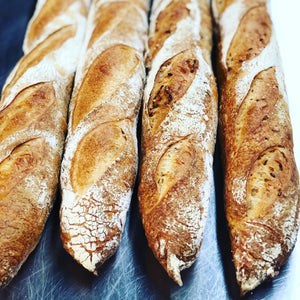 Traditional Parisian Baguette