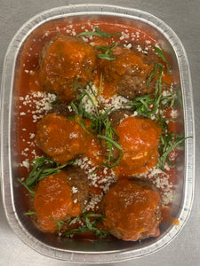 Meatballs in Nonna Sauce