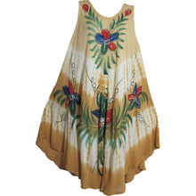 Bohemian Lightweight Soft Floral Sleeveless Long Sun Dress JK - Ambali Fashion