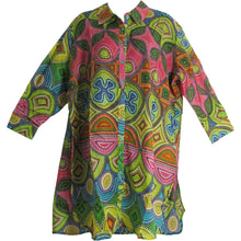 Missy Indian Gauze Cotton Roll Tab 3/4 Sleeve Long Tunic Blouse Top Sita - Ambali Fashion