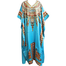 Missy Plus Bohemian Beaded Long Maxi Caftan Dress Beach Coverup - Ambali Fashion