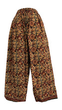 Women's Indian Ethnic Print Wide Leg Casual Cotton Palazzo Pants