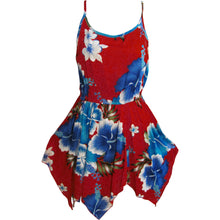 Bohemian Bright Floral Spaghetti Strap Short Sun Dress TH HULA A - Ambali Fashion