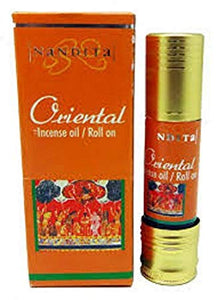 Nandita Oriental Incense Oil - Roll On - 8ml Bottle - Ambali Fashion
