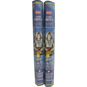 Hem Lord Shiva Incense - Two 20 Gram Packages - Ambali Fashion
