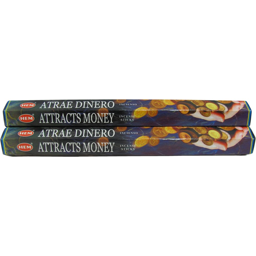 Hem Atrae Dinero Incense - Two 20 Gram Packages - Ambali Fashion