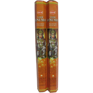 Hem Veer Hanuman Incense - Two 20 Gram Packages - Ambali Fashion