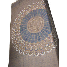 Bohemian Island Indian Ethnic Mandala Peacock Shawl Wrap Tapestry Beach Cover Up - Ambali Fashion