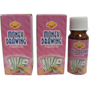 SAC Money Drawing Fragrance Oil - 10 ml (1/3 Fl. Oz), Set of 2 - Ambali Fashion
