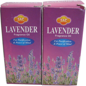 SAC Lavender Fragrance Oil - 10 ml (1/3 Fl. Oz), Set of 2 - Ambali Fashion