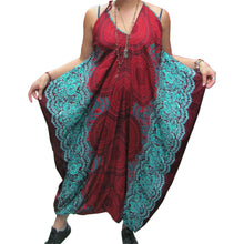 Women's Boho Chic Spaghetti Strap Loose Fit Harem Jumpsuit Jumper