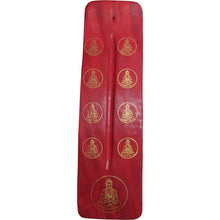 Aromatherapy Wood Buddha Incense Stick Holder, Burner, & Ash Catcher - Ambali Fashion