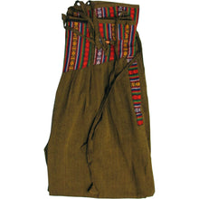 Men's 5-Pocket Fannie Pack Waist Bohemian Cotton Gypsy Harem Pants - Ambali Fashion