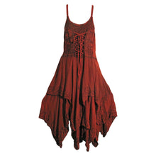 Missy Bohemian Renaissance Spaghetti Strap Layered Embroidered Long Dress - Ambali Fashion