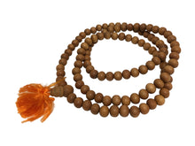 Handmade 6mm Genuine Sandalwood Yoga Meditation Prayer Mala Bead Necklace - Ambali Fashion