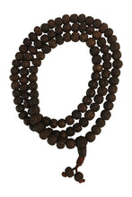 Tibetan Vintage Rudraksha Yoga Meditation Prayer Shiva Energy Mala Bead Necklace - Ambali Fashion