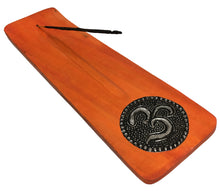 Aromatherapy Wood Om Incense Stick Holder, Burner, & Ash Catcher - Ambali Fashion