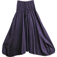 Men's Aladdin Alibaba Organic Cotton Gypsy Hippie Yoga Harem Pants - Ambali Fashion