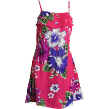 Bohemian Petite Ruffled Spaghetti Strap A-Line Mini Floral Sun Dress TH HANA - Ambali Fashion