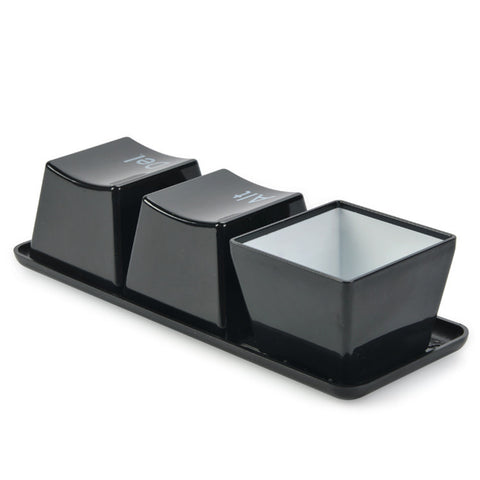 Ctrl Alt Del Cups with Tray
