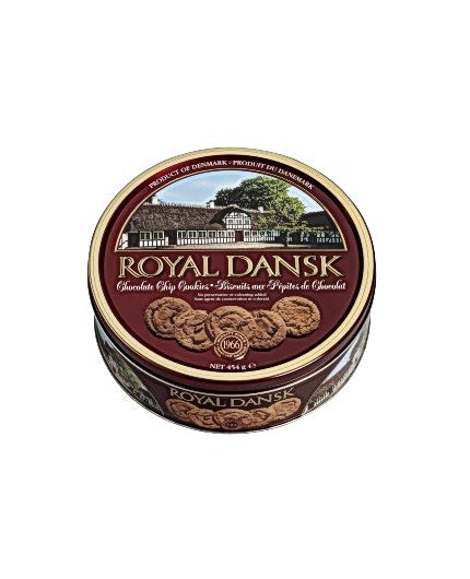 Kakor Chocolate Chip Cookies Royal Dansk, 454g