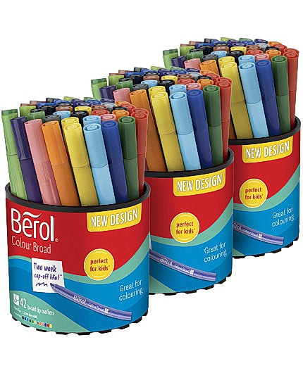 Fiberpenna BEROL Colourbroad 42x3/FP